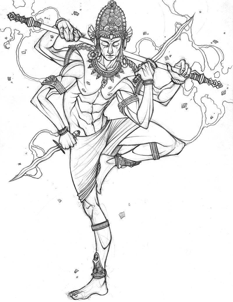 indra by tradd deviantart com on deviantart coloring pages
