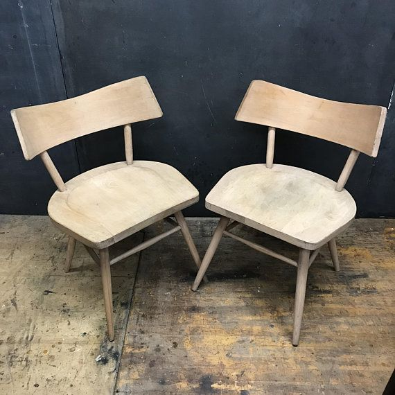 Ceetz Origami Accent Chair: Pair Origami Wingback Accent Chairs Vintage Mid-Century