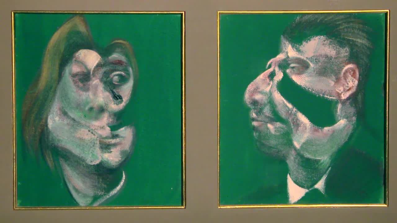Study for head of Isabel Rawsthorne and George Dyer, 1967, Francis Bacon