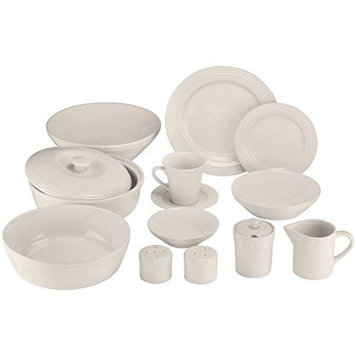 10 Strawberry Street Atlas 45 Piece Dinnerware Set Cream... /  sc 1 st  Pinterest & 10 Strawberry Street Atlas 45 Piece Dinnerware Set Cream... https ...