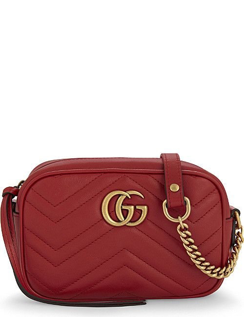 272686ec9c87 GUCCI GG Marmont mini quilted leather cross-body bag | olga RL - The ...