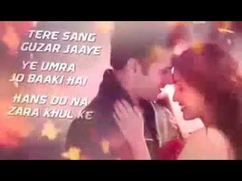 Tere Sang Guzar Jaye Mujhko Barsat Bana Lo Youtube Hd 3d Video For W Youtube Songs Singing