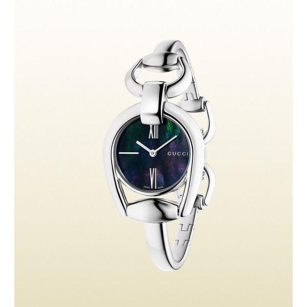 Gucci Horsebit Bracelet Stainless Steel Watch $850