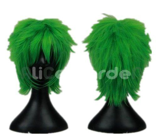 Green Short Cosplay Wig You And Me Fairy Tail Costume Wigs lacefront wig party wig Lacefront Wig by GOOACTION. $24.80. *Package: 1 wig + 1 free wig cap. The size is adjustable,it can fit on most people.you can adjust the hooks inside the cap to the correct size to suit your head.. It's fit for your Parties,Cosplay & Daily Use.. 100% Top Quality & Brand NEW. 100% Japanese Kanekalon (high quality one) made fiber wigs. Easy to care for and Wahs. Wash with normal shampoo in warm ...