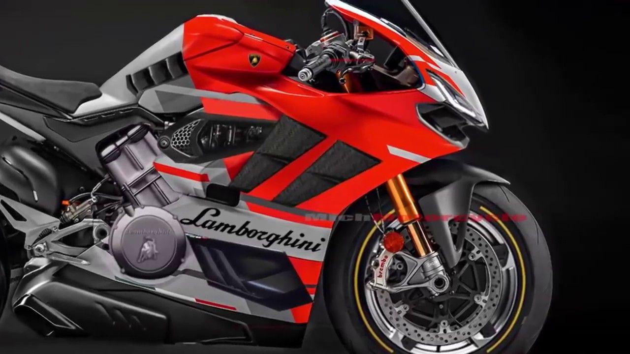 Detail Lamborghini Superbike 1000cc V4 Engine 220hp 2019 2020 Mich Mot Lamborghini Honda Bike