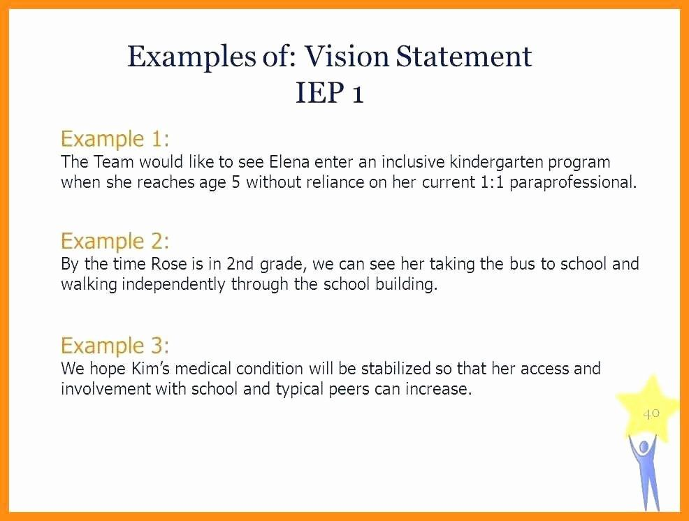 Personal Vision Statement Example Lovely 10 Of Funny Award For Student Mission Examples