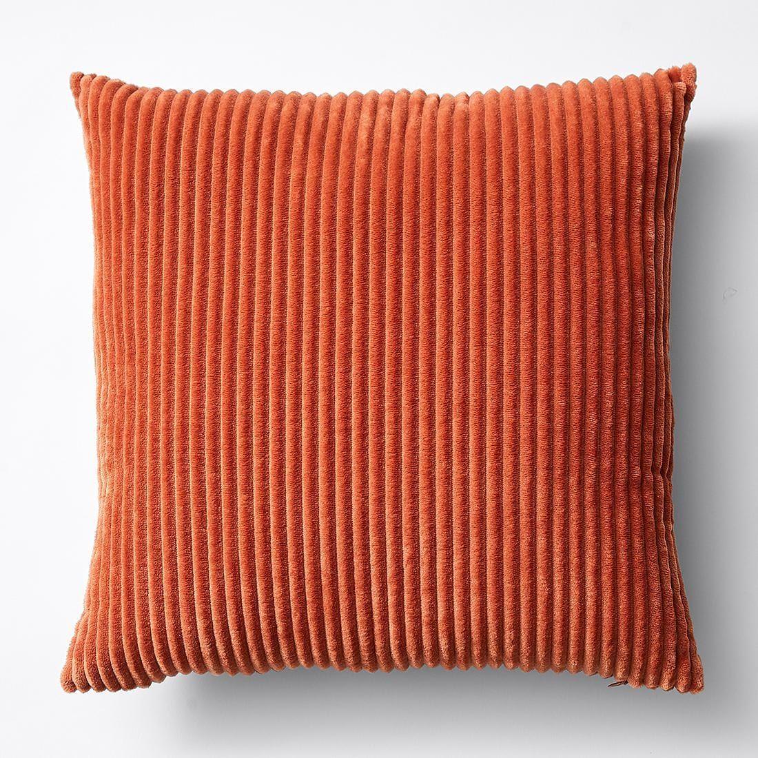 Mara Ribbed Velvet Cushion in 2019 Velvet cushions