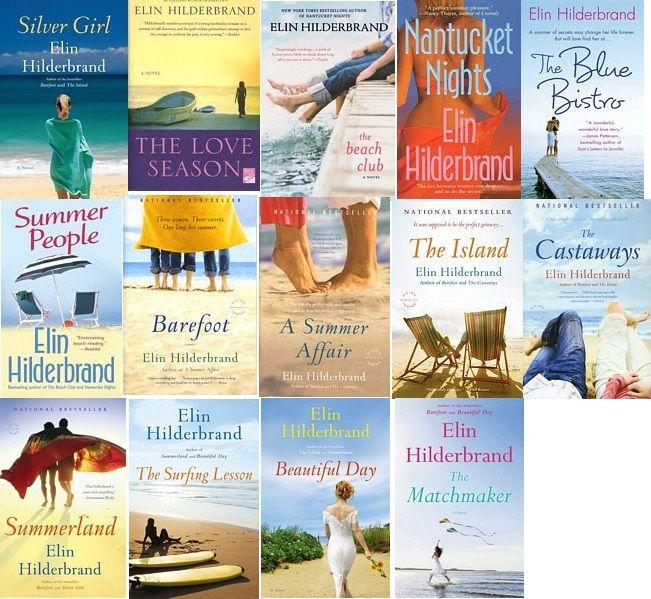 Elin Hilderbrand (With images) | Elin hilderbrand books, Good ...
