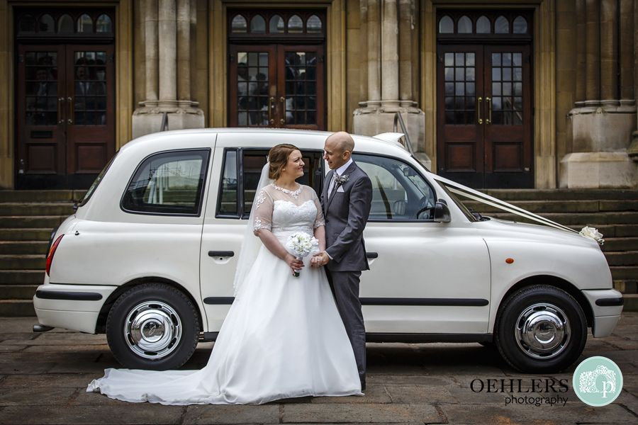 This Is Our Client White Taxi Weddings Their Converted London Black Cab Is A Hit With Couples Across The East Midlands A London Black Cab White Taxi Black Cab