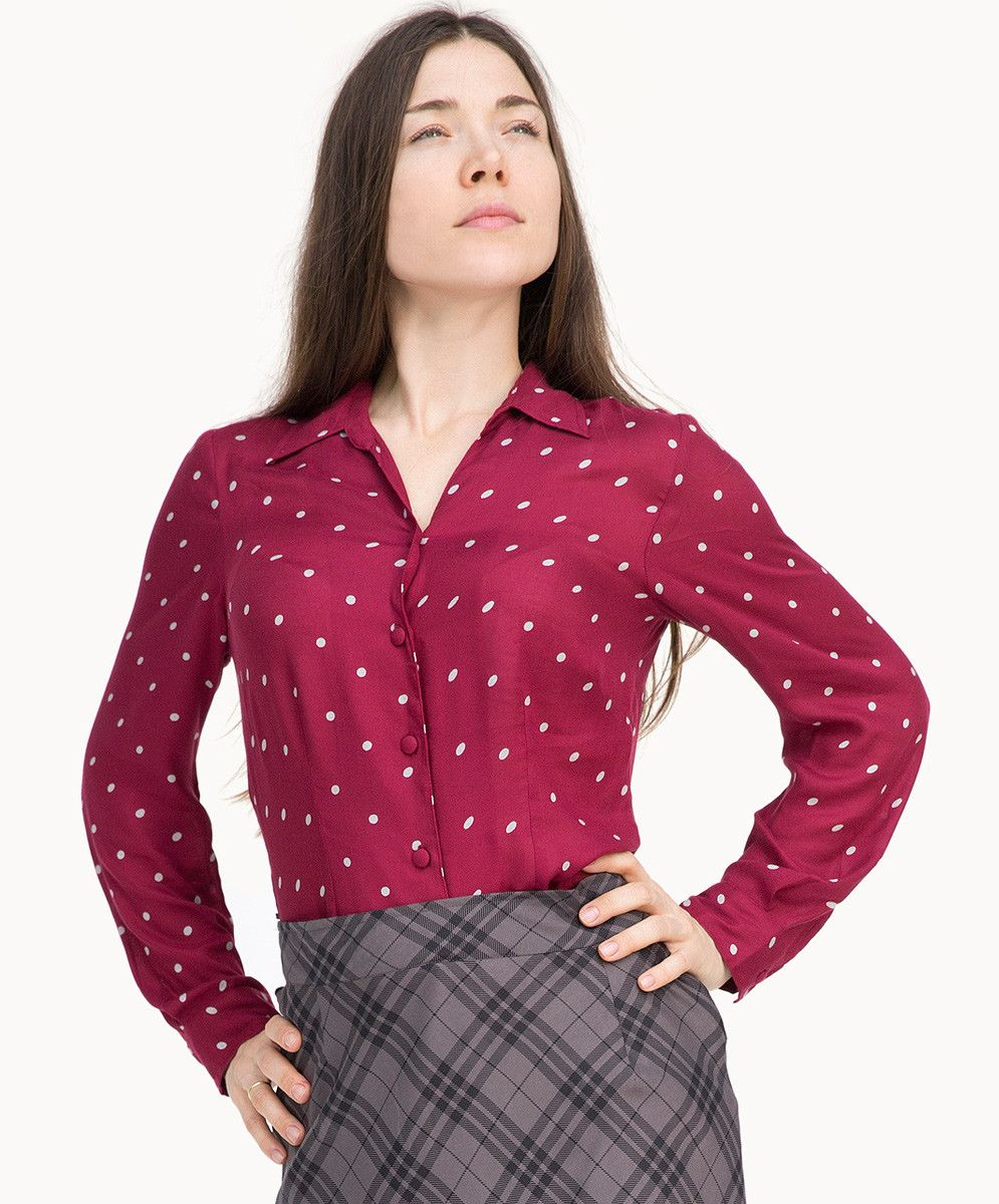 Carmine us fitted blouse fair trade fashion and evening outfits