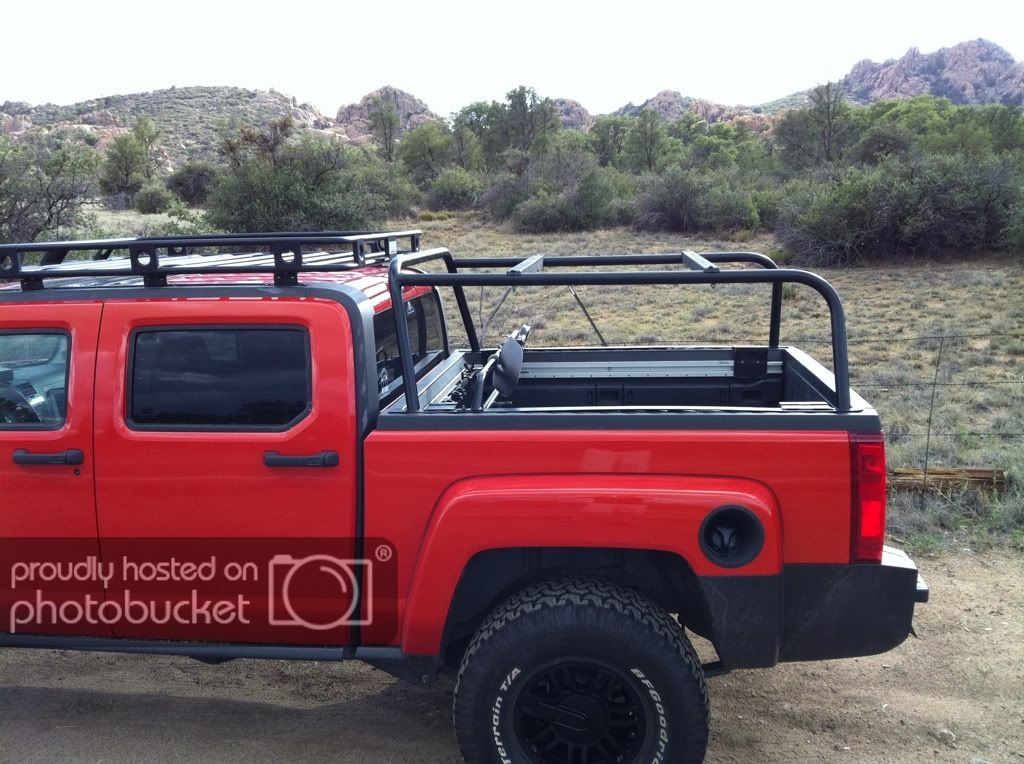 H3t Truck Bed Rack For Rtt Expedition Portal Truck Bed Trucks Tactical Truck