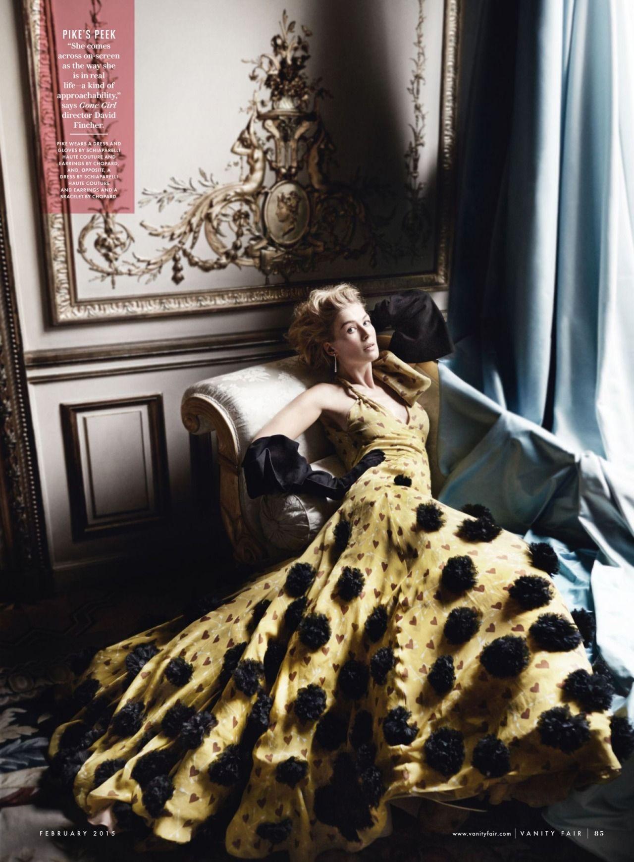Rosamund Pike Vanity Fair February 2015