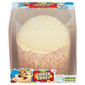 Asda vanilla smash cake maya 2017 pinterest smash cakes asda vanilla smash cake sciox Images