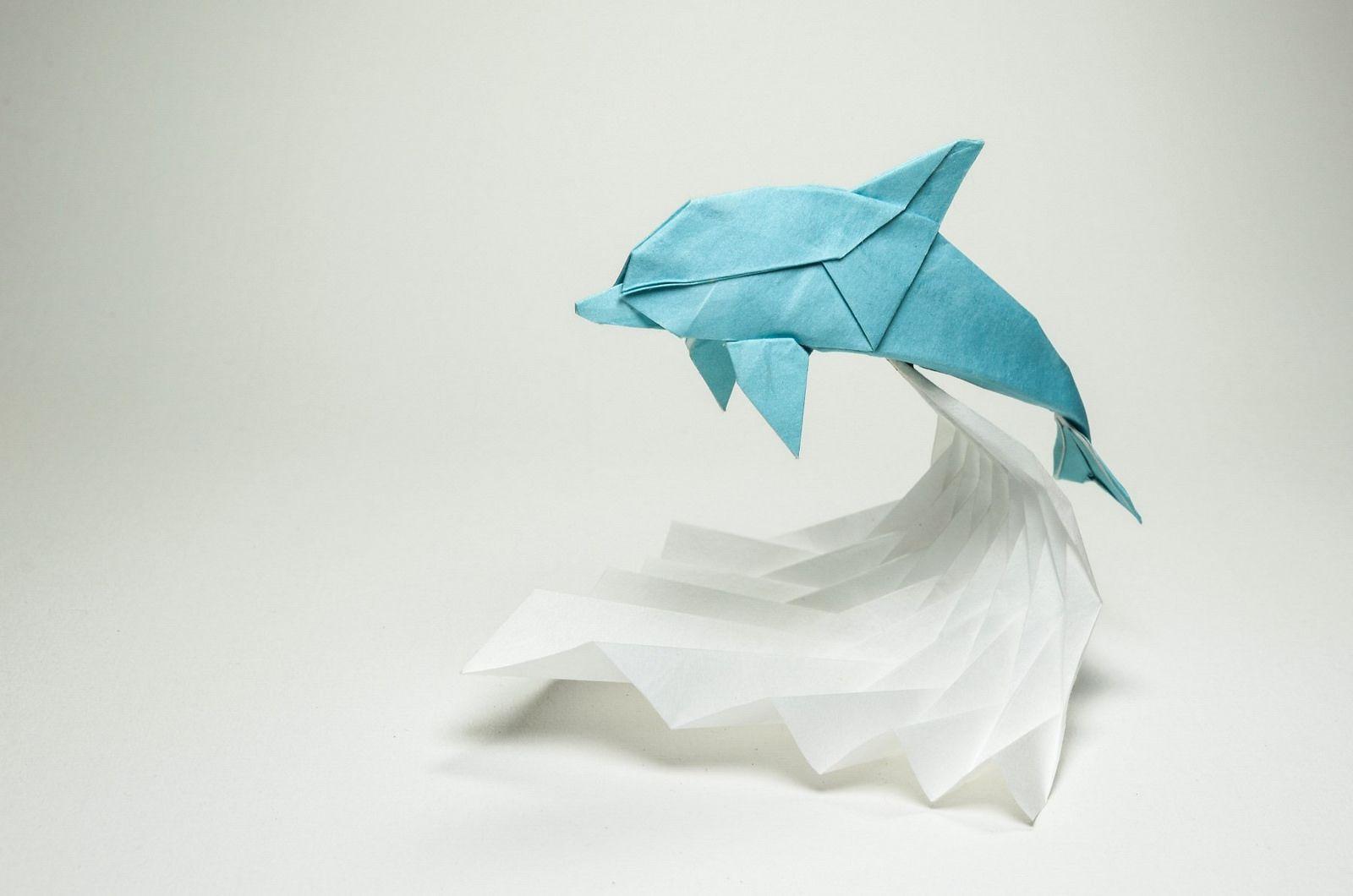 Dolphin 2015 Paper Creations Pinterest Origami Ratrat Origamiorigami Rat Diagram Guide By Ori Q Craft Crafts