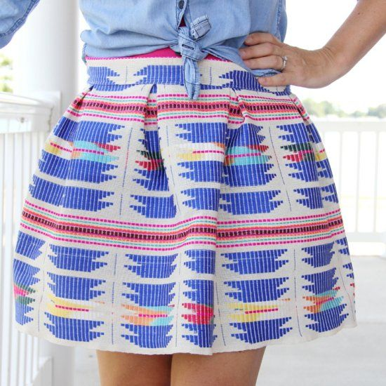 how to make a full skirt