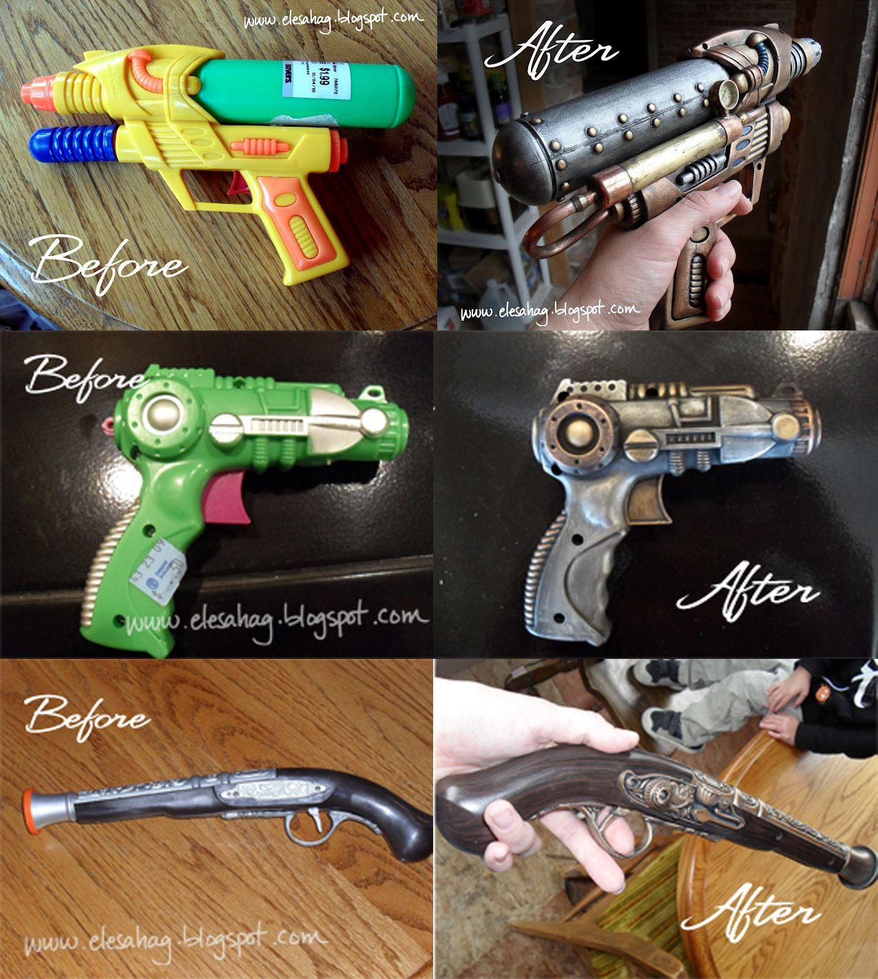 Comment peindre customiser un pistolet eau bon march pour en faire une arme de style - Comment fabriquer un pistolet ...