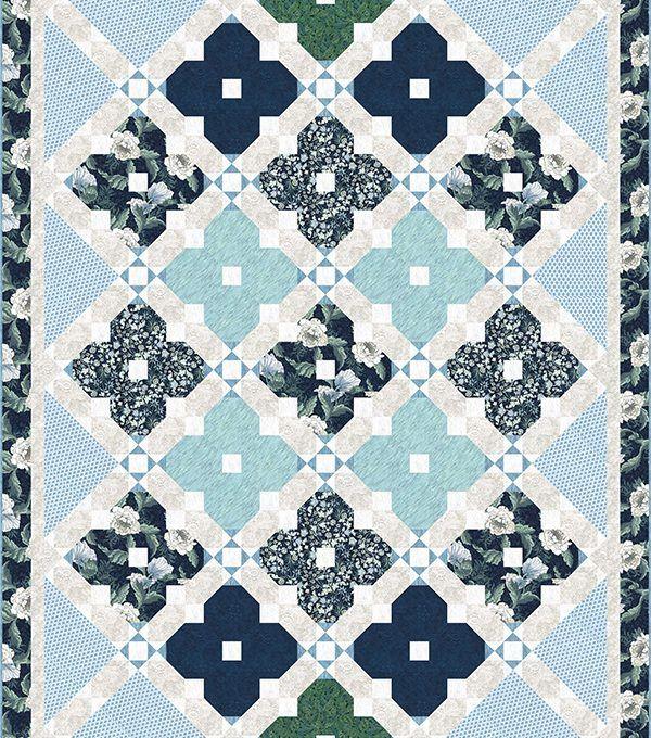 free pattern = Williams Garden Window quilt by Wendy Sheppard for ... : hoffman free quilt patterns - Adamdwight.com