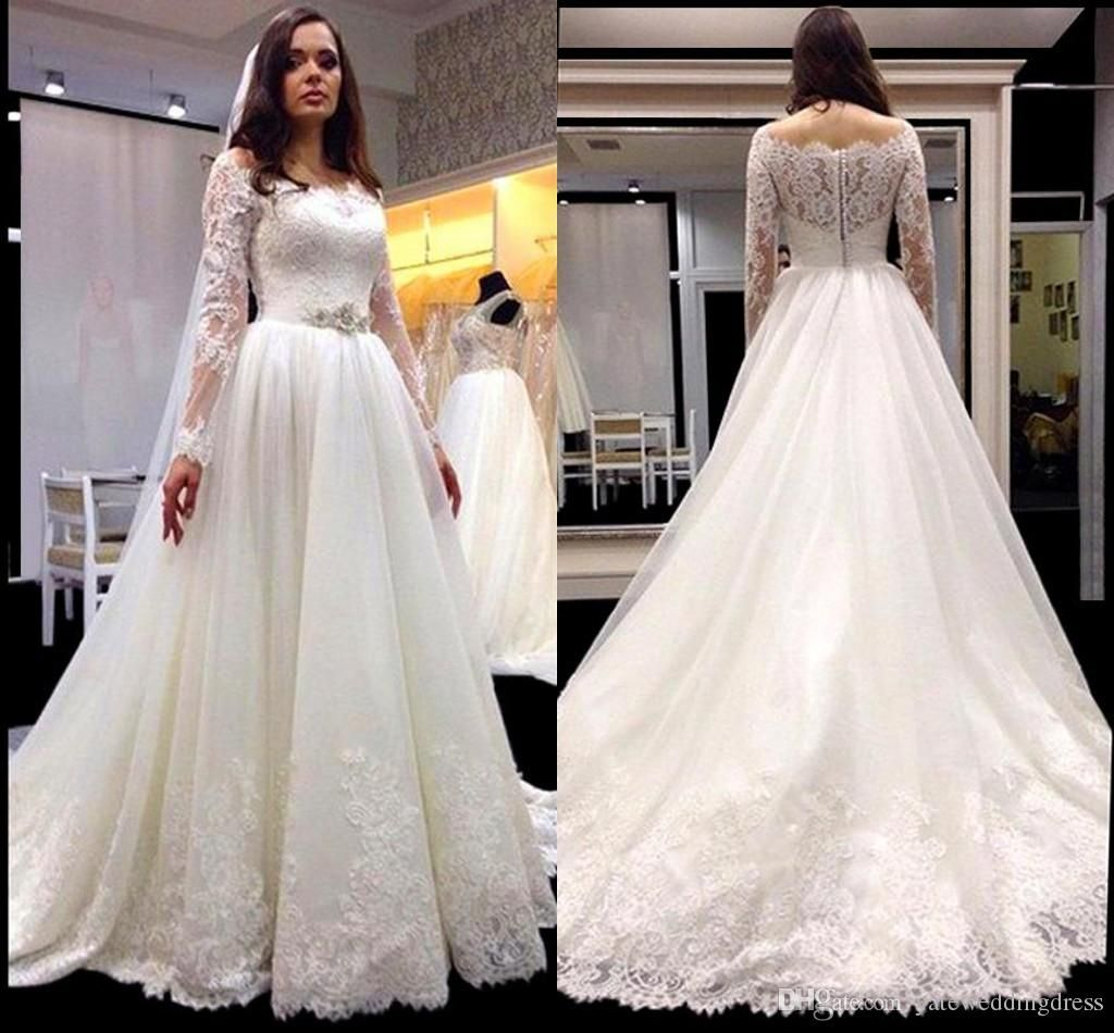 spring vintage beaded lace plus size wedding dresses with