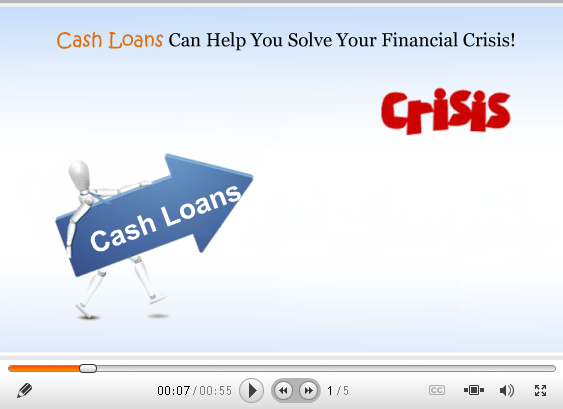 Cash Loans Can Easily help You Come Out From Financial Trouble!