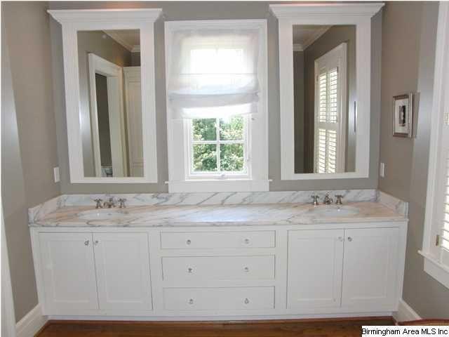 2 Sinks W Window In Between In 2019 Master Bathroom