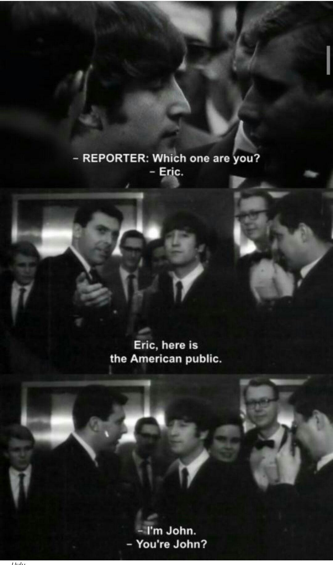 John Lennonthanks America Beatles The Beatles Beatles Funny