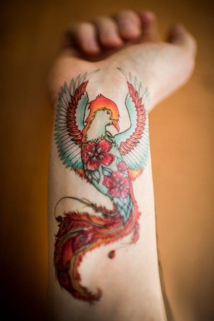 Tatouage Phoenix Femme Signification Emplacements Et Idees En