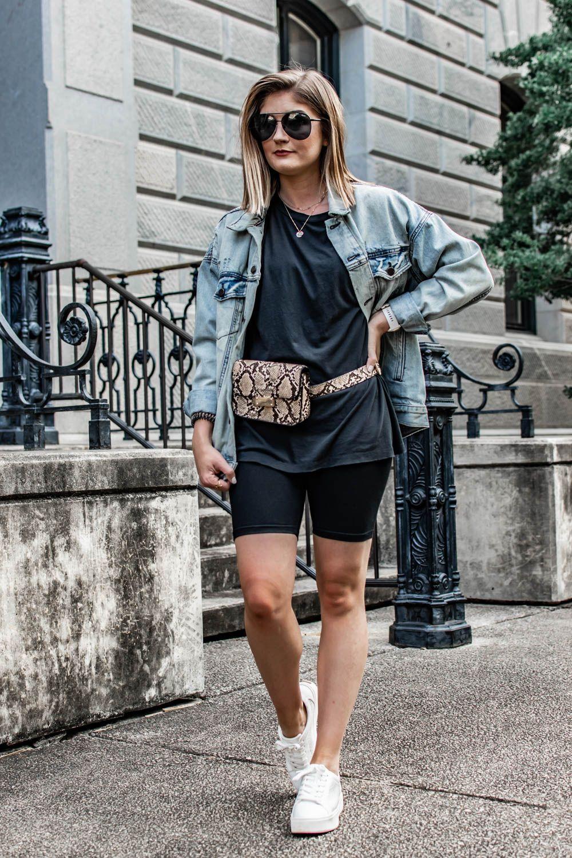 3 ways to wear the biker short trend style worthy