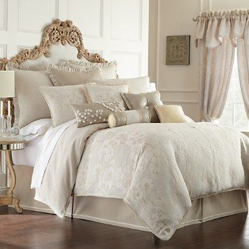 Waterford bedding with European styling and design ... |Deluca Comforter Set