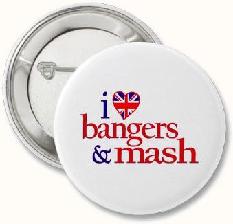 Bangers and Mash, Luv? - Bangers and mash are a classic in any English or Irish pub. Kick them up a notch with apples and cider.