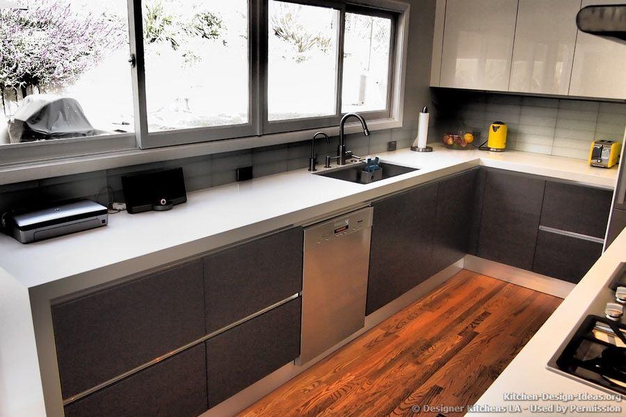 Designer Kitchens La Pictures Of Kitchen Remodels White Countertops Design Modern