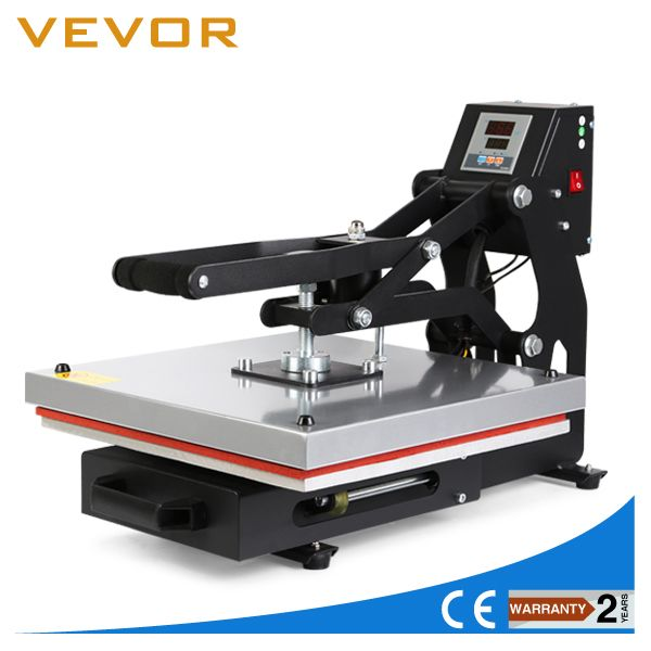 16 X 20 Flat Heat Press Machine T Shirt Transfer Clamshell Sublimation Pressing 40x50 Cm Vevor Http T Im Heat Press Heat Press Machine Printing Machine