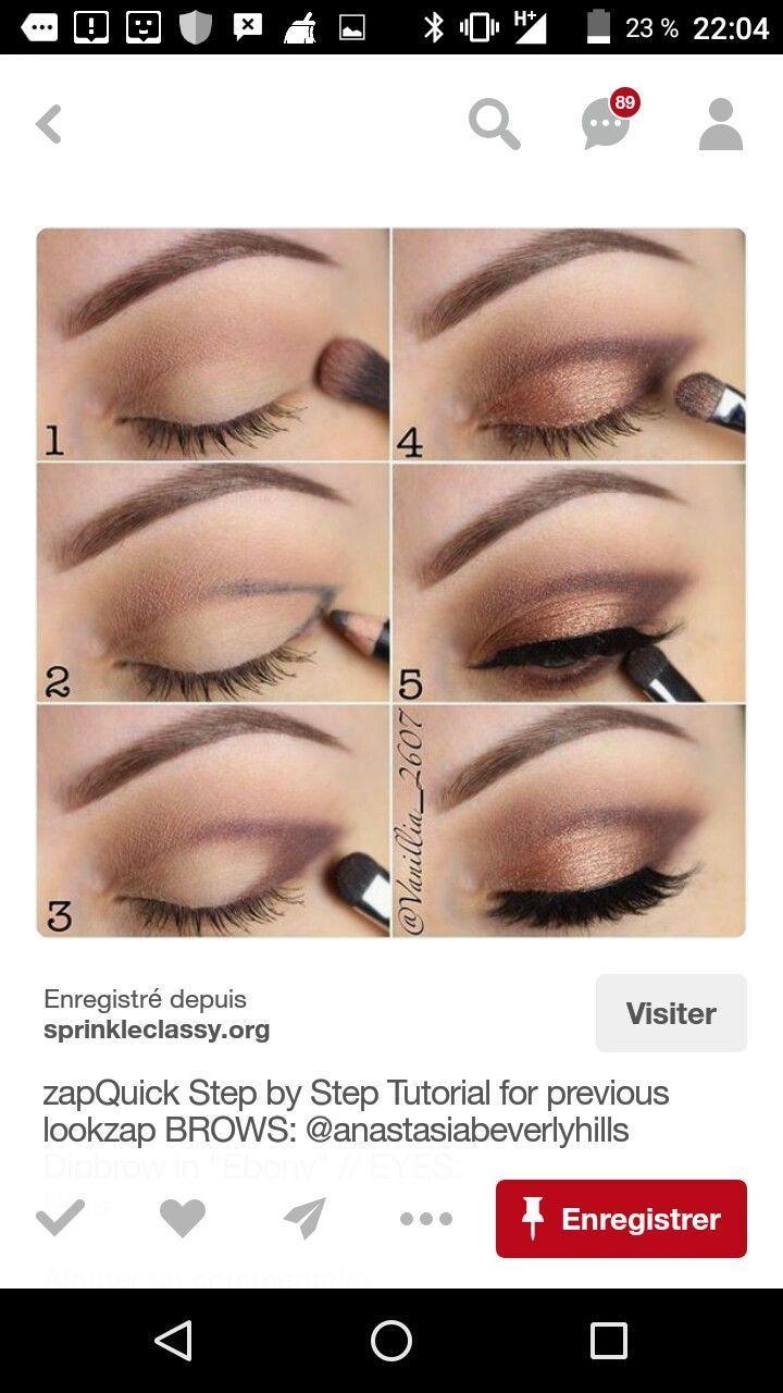 Bild Bild Makeup Trends 2019 eye makeup tutorial