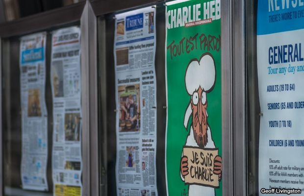 """""""Charlie Hebdo vuelve de nuevo"""" – http://ow.ly/JDp2o"""