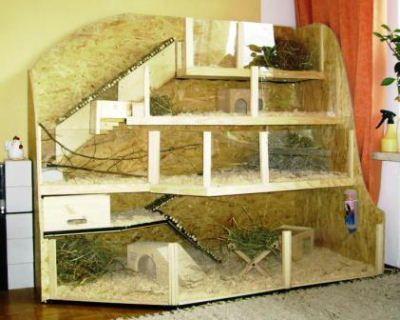 KleintierhilfeMünchen Gehegebeispiele