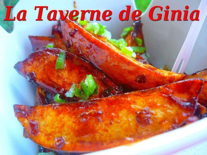 Pommes de terre à la sauce au tamarin