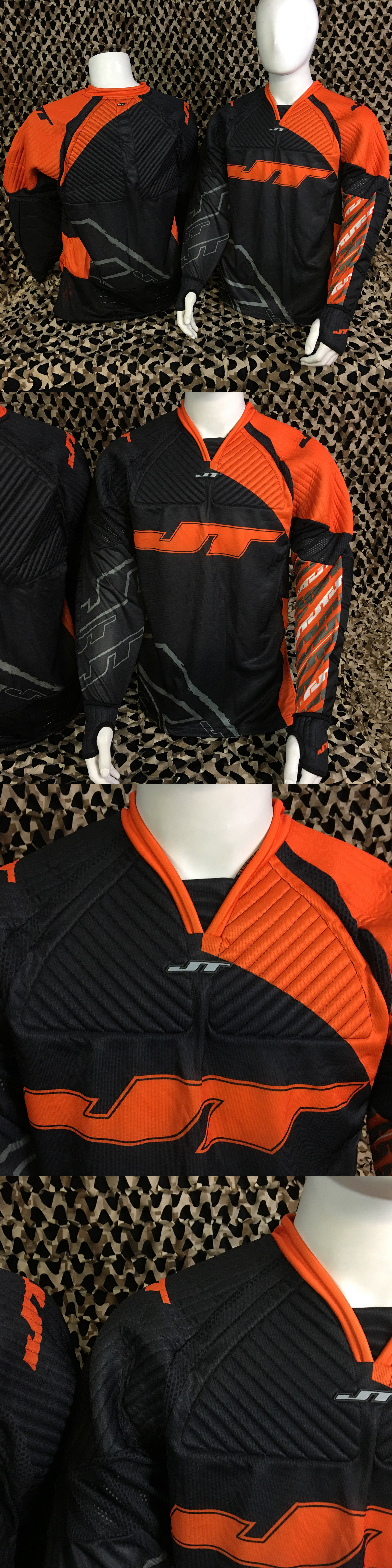 d00ddbd91 Jerseys and Shirts 165939: New Jt Fx 2.0 Padded Paintball Jersey -  Orange/Black -> BUY IT NOW ONLY: $32.95 on eBay!