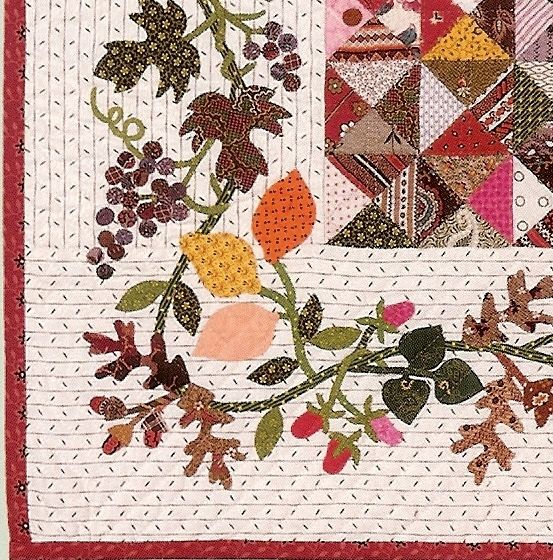 Applique Border | beautiful traditional quilt that is light and soft ...