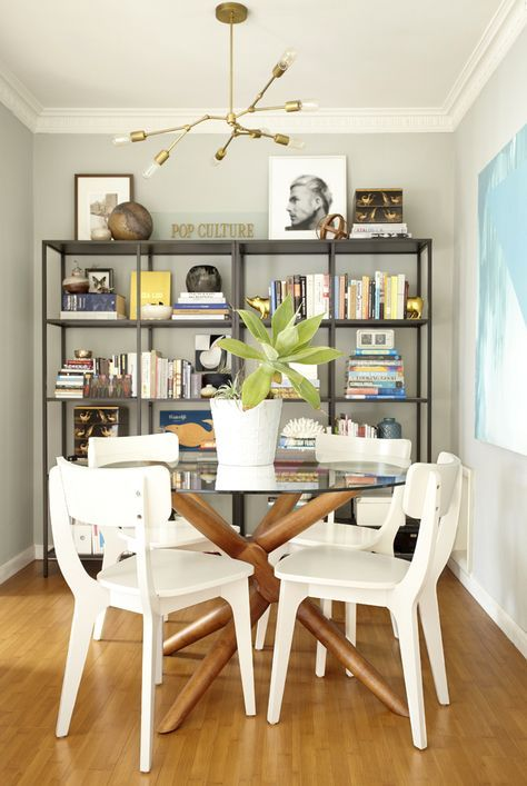 Orlando Soria S Dining Room Dining Table And Chairs From West Elm