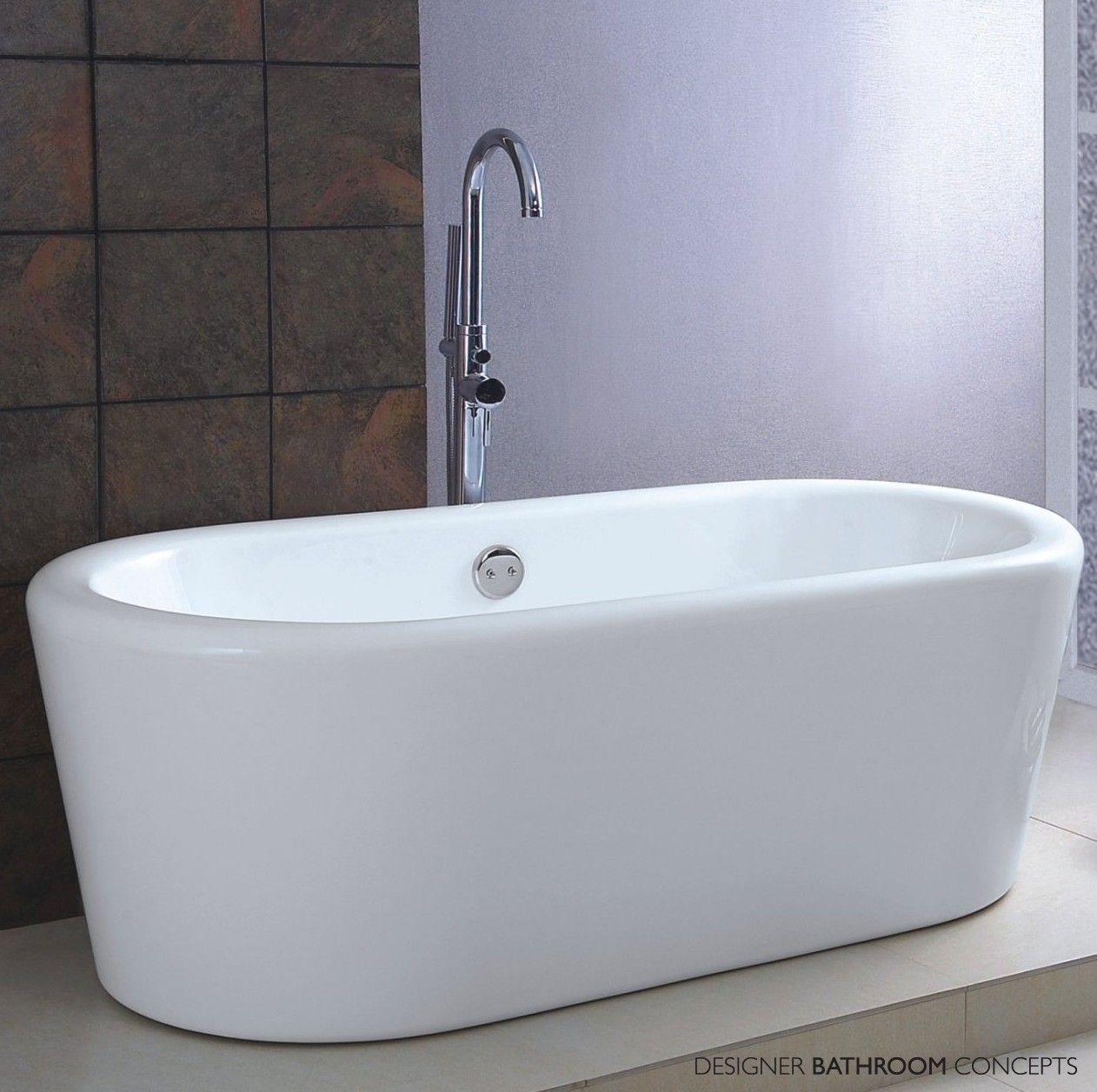 Verona Designer Freestanding Bath From