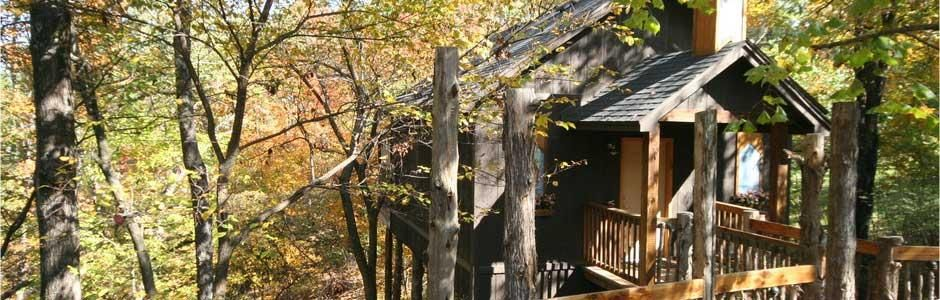 Oak Crest Cottages And Treehouses Eureka Springs Eureka Springs Arkansas Cottage