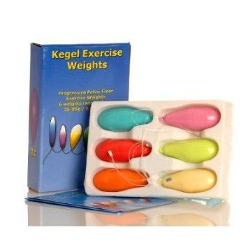 kegel exercise weights to strengthen the pelvic floor