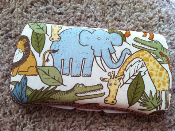 Safari Boutique Style Travel Wipe Case by CrystalCreations108, $8.00