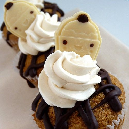 Vegan Cupcakes..Cute Decor. I would absolutely take the vegan route. Its healthier cupcakes and baked goods.