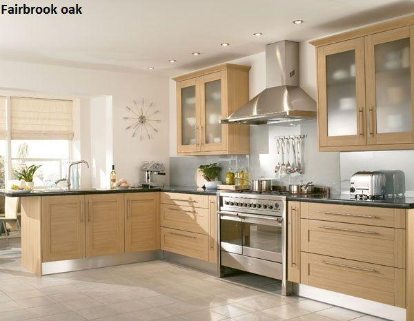Best Beech Shaker Fitted Kitchen Kitchen Kitchen Fittings 400 x 300