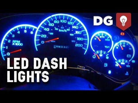 Replace Toyota Tacoma Led Dashboard Instrument Light You