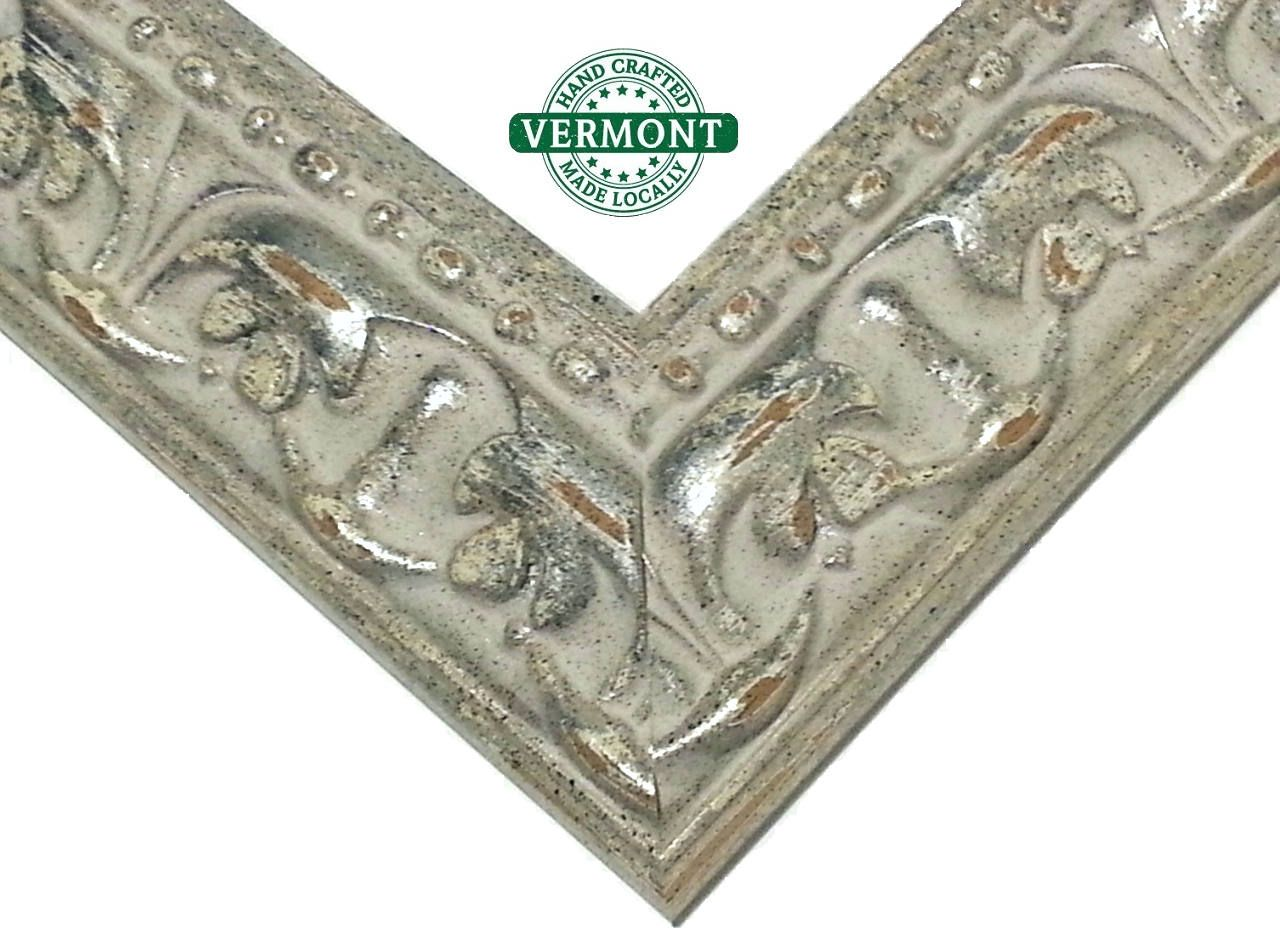 GILDED Ornate Silver Picture Frame, Real Silver Photo Frame ...