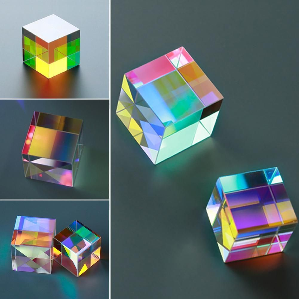#prism #cube #light #educational  FREE SHIPPING WORLDWIDE Buy Now 29% Discount On Prism Six-Sided Bright Light Combine Shape: Cube Material: Glass Flatness: Cube Item: Prism at Shop For Gamers.