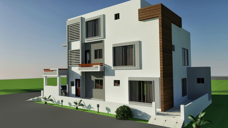 10 MARLA CORNER HOUSE PLAN DESIGN OF TARIQ GARDEN, LAHORE