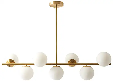 Amazon Com Ceiling Light Frosted Modern Gold Chandelier