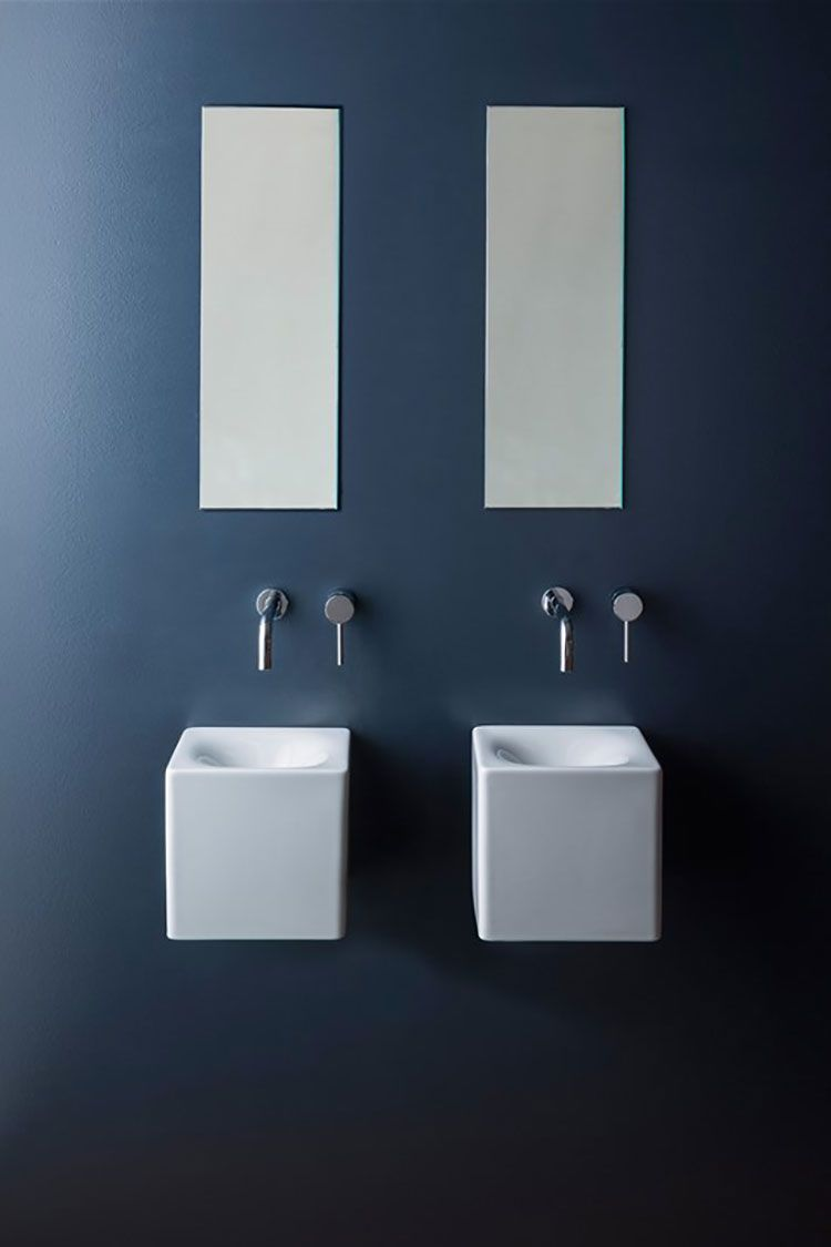 Lavabo bagno sospeso 15 | Bagni di design | Pinterest